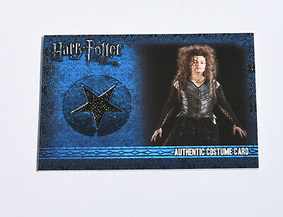 Bellatrix Lestrange - Costume Card - Harry Potter And The Deathly Hallows
