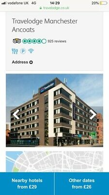 Travelodge Family Room 26 Th May 2019 Manchester Ancoats Room Only