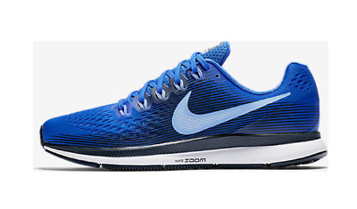 sale retailer d82b7 0b830 Nike Air Zoom Pegasus 34 Running Shoes Blue White 880555-409  110 Mens US 15