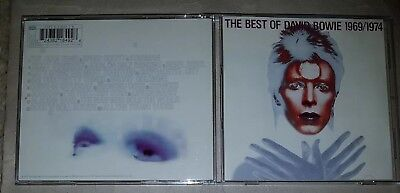 David Bowie - The Best Of David Bowie 1969/1974 - UK CD