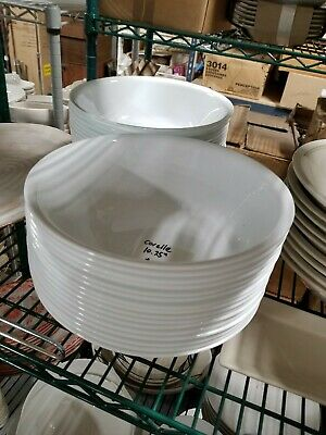 "Corelle Corning Winter Frost White 10 1/4"" Serving Bowl Vegetable free shipping"