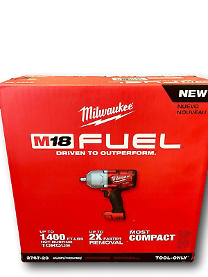 "Milwaukee 2767-20 M18 FUEL 1/2"" High Torque Impact Wrench w/ Friction Ring NIB"
