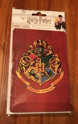 Harry Potter Pocket Notes Dot Grid Mini Notebook Journal Diary 96 Pg Paper House