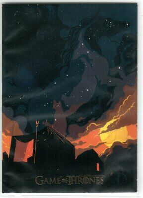 Game Of Thrones Season 4 Beautiful Death Gold Parallel Insert Card Bd10 047/150