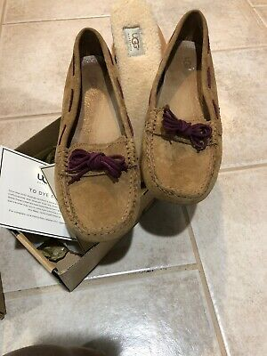 08dd190eea2 WOMEN'S LIGHT TAN Ugg Australia Loafers 9N Rope Ties NWOT VERY NICE ...