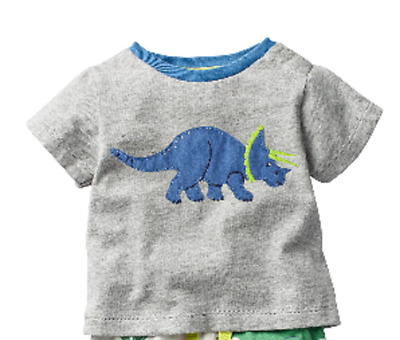 Baby boys  MINI BODEN Top tshirt 0 3 6 12 18 24 months 2 3 4 years dinosaur