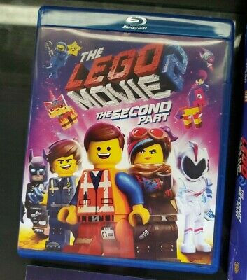 The Lego Movie 2 The Second Part Blu Ray Dvd Target Exclusive Lenticular Slipbox