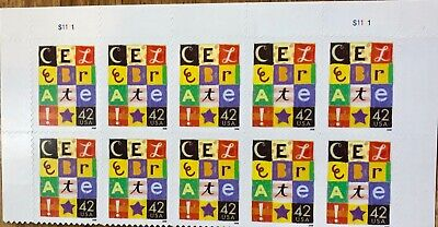 Scott #4335 2008 Celebrate 42c Plate Block of 10 Stamps MNH S1111