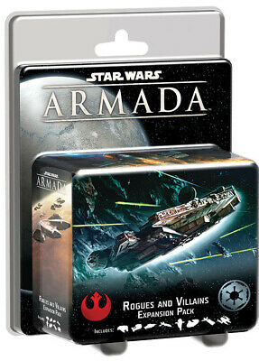 Star Wars Armada Rogues and Villains Expansion Pack Ship New Factory Sealed