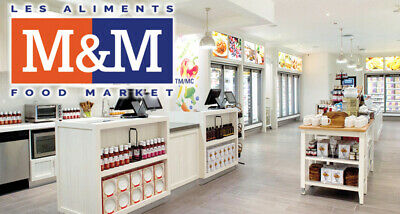 M&M Food Market Across Canada - $50 for Meats, Seafood, Appetizers, Desserts