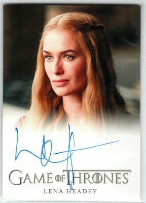 Game Of Thrones Season 4 Lena Headey As Cersei Lannister Autograph El