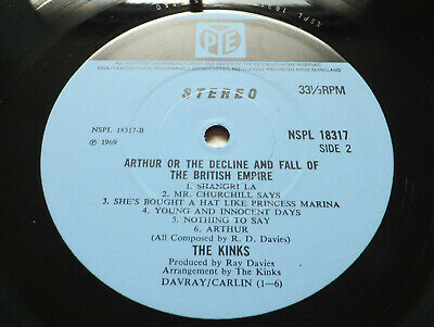 The Kinks - Arthur or the Decline.. // Orig. 1st UK Pye '69 LP Top copy