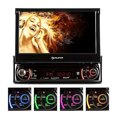Moniceiver Autoradio mit Touchscreen Bluetooth DVD CD Player USB SD RDS MP3 TV