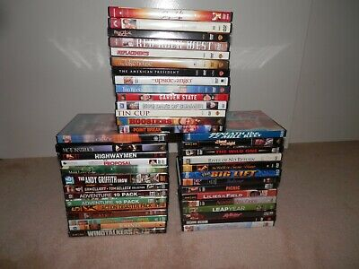 DVD's Lot of 6 - you pick your choice of 6 from the list available