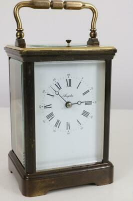 L'EPEE for ANGELUS CARRIAGE CLOCK strike & repeater GRANDE CORNICHE CASE