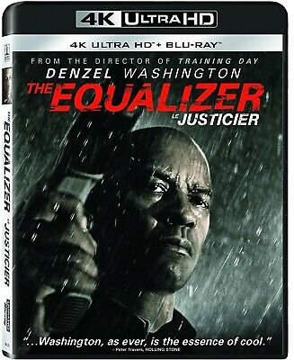 The Equalizer (4K Ultra HD, Blu-ray) Brand New Sealed