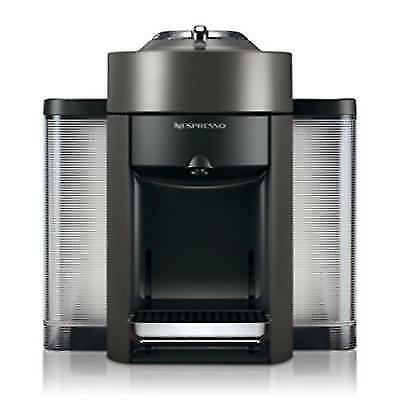 Nespresso Vertuo Coffee Machine by DeLonghi & Aeroccino3 - Graphite Metal