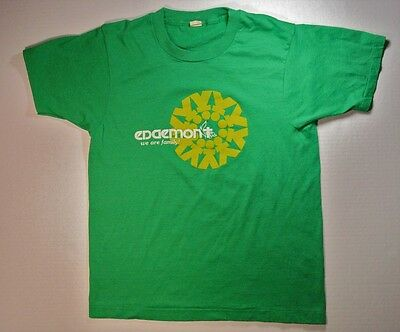 Vintage T Shirt soft thin S tee Tennessee nashville 70s 80s hipster green punk