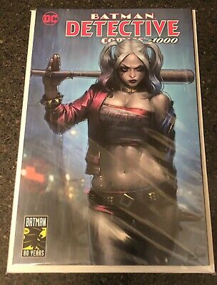 "Detective Comics #1000 JeeHyung Lee ""Harley Quinn"" Variant UNGRADED! TRADE DRESS"