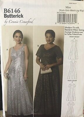 S B5689 Butterick Women/'s Sewing Patterns By Connie Crawford For XS XL M L