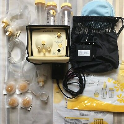 Medela Pump In Style Advanced Breastpump+battery pack +accessories