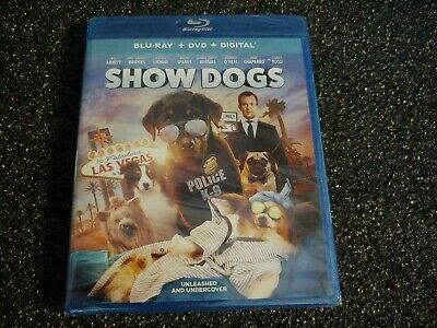 Show Dogs (Blu Ray + DVD + Digital) Factory Sealed
