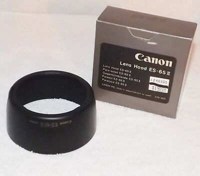 Genuine CANON Lens Hood ES-65 II for TS-E 90mm f/2.8  - New Old Stock