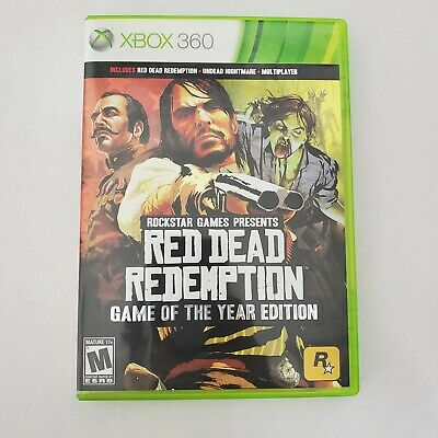 Xbox 360 Red Dead Redemption by Rockstar Games Rated Mature 17+ Video Game