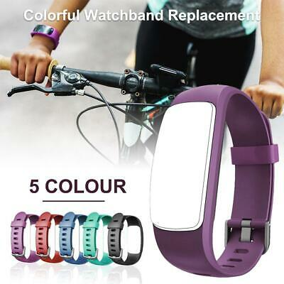 Replacement Sport Silicone Wrist Strap Band for Fitness Tracker ID107 Plus HR