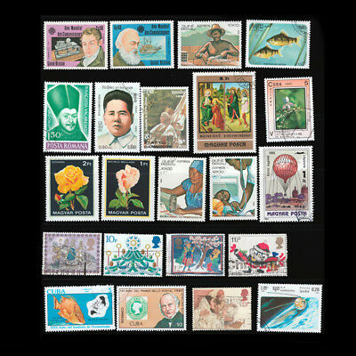 10Sheet Different Foreign Stamp Worldwide Collection Random Valuable Souvenir