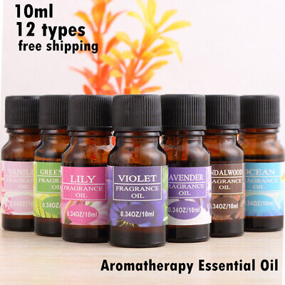 Pure Essential Oils 10ml Therapeutic Grade Aromatherapy Free Shipping US