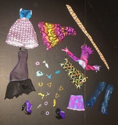 Monster High Doll Clothes Shoes Jewelry Accessory Lot MH