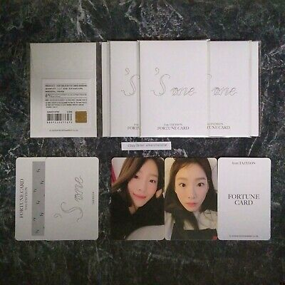 Taeyeon Fortune Scratchcard Official Concert Goods