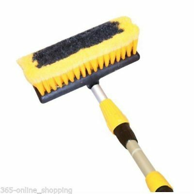 3M 9Ft Aluminium Telescopic Water Fed Window Car Van Etc Wash Brush