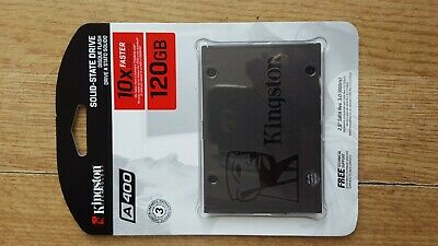 "KINGSTON A400 120GB 2.5"" INTERNAL SOLID STATE DRIVE SATA REV.3.0.(6gb/s) NEW"