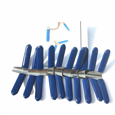 Padlock Shim Set Key Unlocking Accessories Tool Kit Without Lock HOT 10pcs Blue