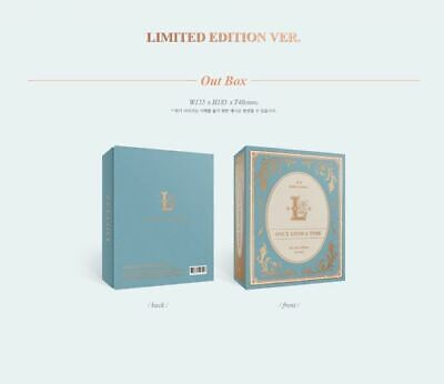 LOVELYZ 6th Mini Album - ONCE UPON A TIME (Limited Edition) CD + Folded Poster