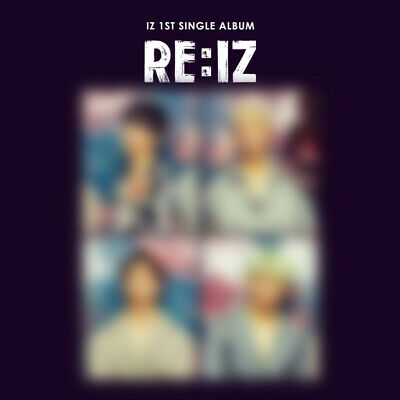 IZ - RE:IZ (1st Single Album) CD+Booklet+Photocard+Postcard