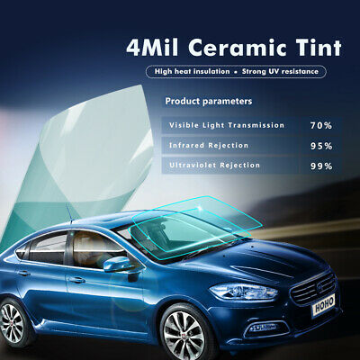 Car Windshield Window Tint VLT70% Solar Tint Film 99%UV Proof Tinting Vinyl