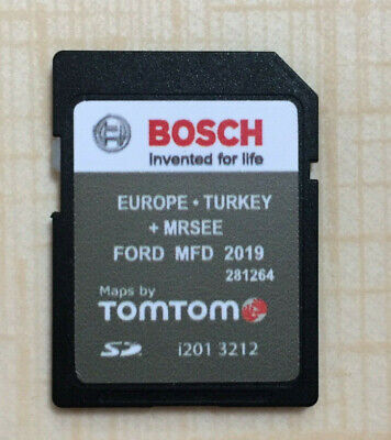 FORD MFD 2019 - 2020 NAVIGATION SYSTEM SD CARD EUROPE + TURKEY Latest V9 NEU!