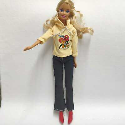 2PCS Set Fashion Outfit Top Cloth +jean pants Suit FOR 11.5in.Doll Clothes