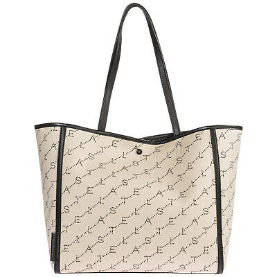 Stella Mccartney Women's Handbag Tote Shopping Bag Purse New Beige 3C1