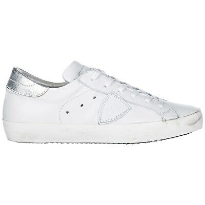 014c94efde69 Philippe Model Women's Shoes Leather Trainers Sneakers New Paris White 783