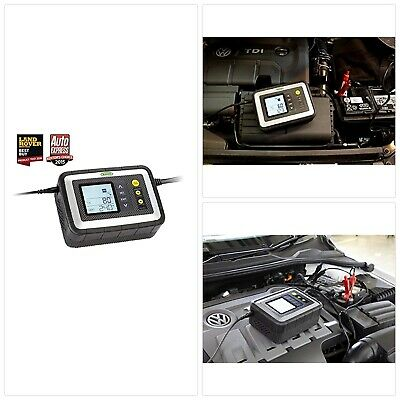 Ring RSC612 12A Smart Battery Charger, 12V Vehicles to 5.0L, All Battery Types,