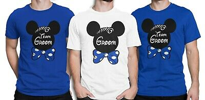 Stag Party Groom Disney Inpired Men T-shirt