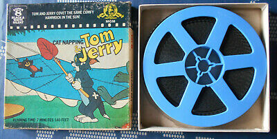Tom & Jerry – Cat napping---MGM, super 8 (b/w, silent)