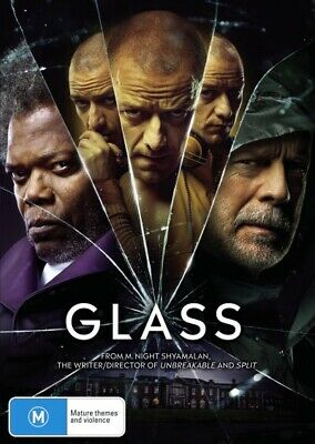 GLASS-DVD-Bruce Willis-Region 4-New AND Sealed