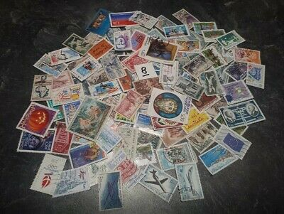 super lot de 150 timbres de France différents