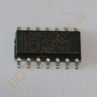 2 x 74f27sc triple 3-input nor Gate ns so-14 2pcs
