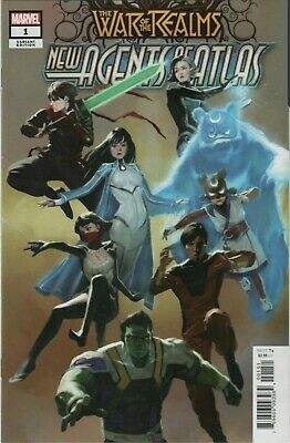 War of the Realms New Agents of Atlas #1 Pyeong Jun Park 1:25 Variant